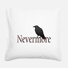 Nevermore Square Canvas Pillow
