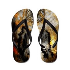Dreamcatcher Flip Flops