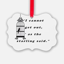 Mansfield Park Quote Ornament