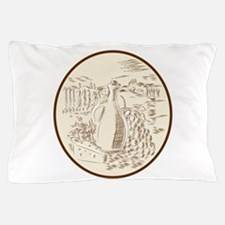 Olive Oil Jar Cheese Tuscan Countryside Etching Pi