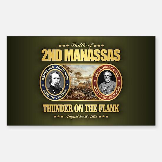 2nd Manassas (FH2) Sticker (Rectangle)