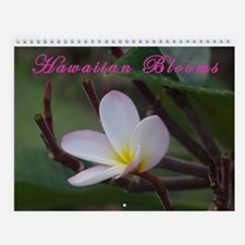 Hawaiian Blooms Vol 3 Wall Calendar