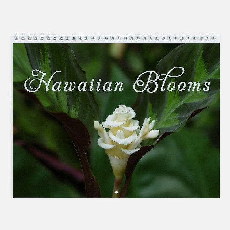 Hawaiian Blooms Vol 1 Wall Calendar