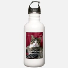Cat Meme Water Bottle