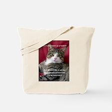 Cat Meme Tote Bag