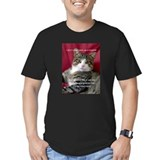 Cats Fitted T-shirts (Dark)