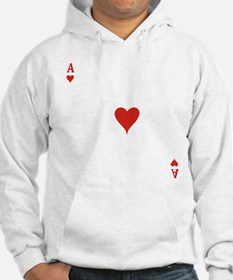 Ace of Hearts Hoodie