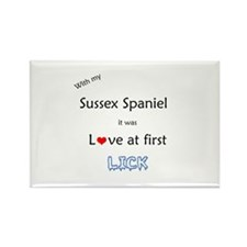 Sussex Lick Rectangle Magnet