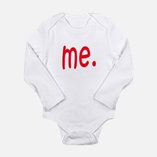 Cool Daddy and mommy made me Long Sleeve Infant Bodysuit