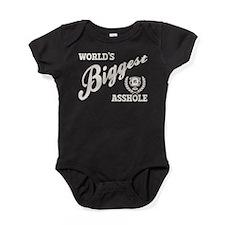 World's Biggest Asshole Baby Bodysuit