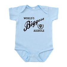 World's Biggest Asshole Infant Bodysuit