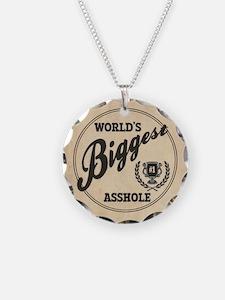 World's Biggest Asshole Necklace