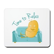 Time To Relax Mousepad