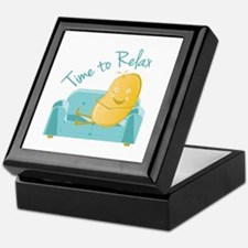 Time To Relax Keepsake Box