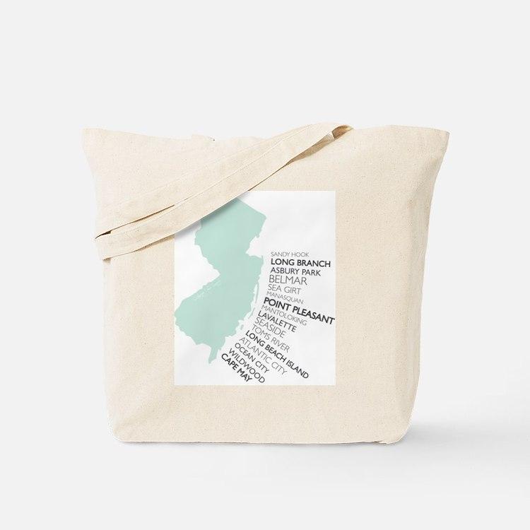 NJ SHORE Tote Bag