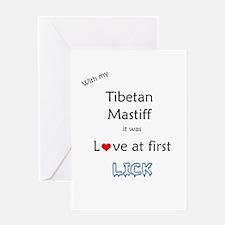 Tibetan Lick Greeting Card