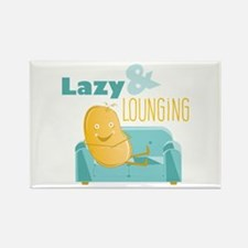 Lazy Lounging Magnets