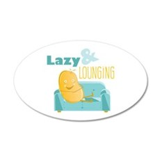 Lazy Lounging Wall Decal