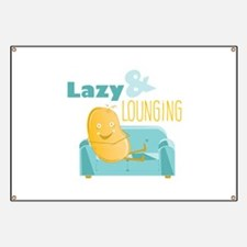 Lazy Lounging Banner