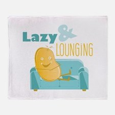 Lazy Lounging Throw Blanket