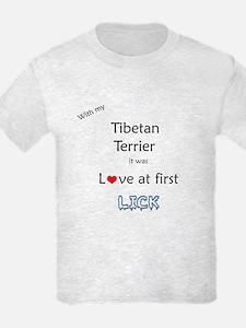 Tibetan Terrier Lick T-Shirt