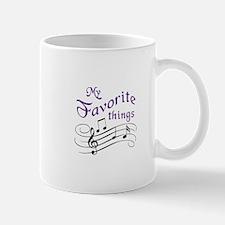My Favorite Things Mugs
