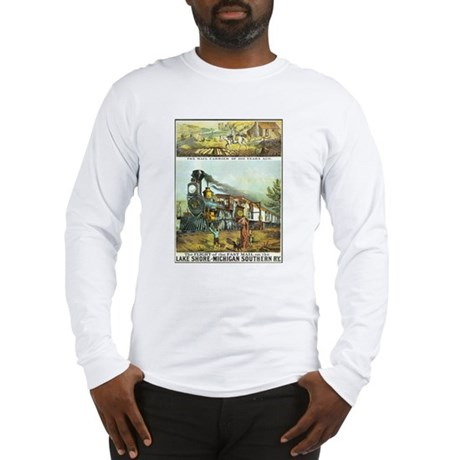 Flight of the Fast Mail Long Sleeve T-Shirt