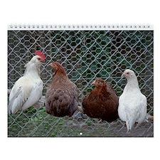 Chicken Wall Calendar