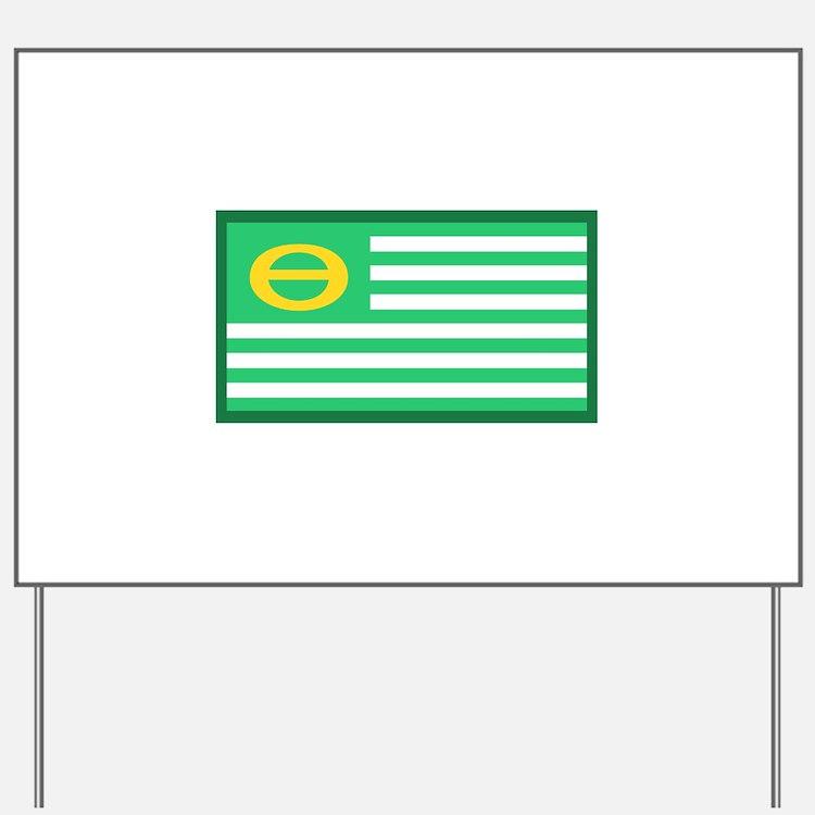 Ecology Flag Yard Sign