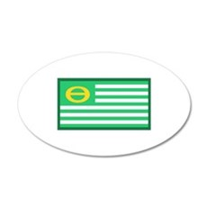 Ecology Flag Wall Decal