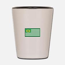 Ecology Flag Shot Glass