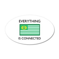 Everything Is Connected Wall Decal