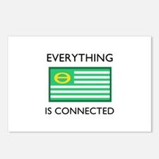 Everything Is Connected Postcards (Package of 8)