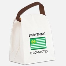 Everything Is Connected Canvas Lunch Bag