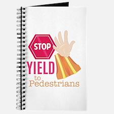 Yield To Pedestrians Journal
