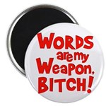 abb_words_weapon_10x10 Magnets