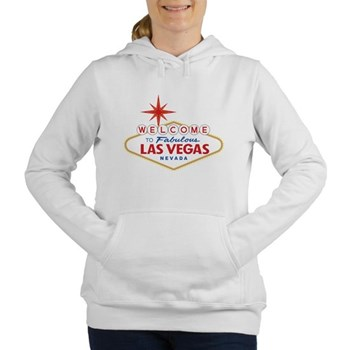 Welcome to Fabulous Las Women's Hooded Sweatshirt