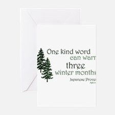 Funny One word Greeting Cards (Pk of 20)