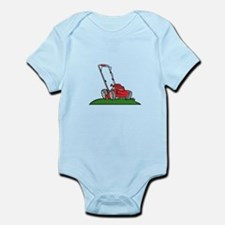 Lawnmower Front Isolated Cartoon Body Suit