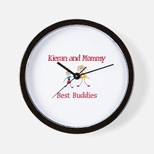 Kieran & Mommy - Buddies Wall Clock