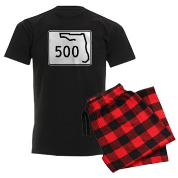 Route 500, Florida Men's Dark Pajamas