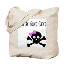 BAMF Air Force Fiance Tote Bag