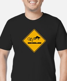 Unique Car accidents Men's Fitted T-Shirt (dark)