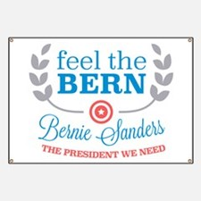 Feel the Bern Banner