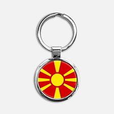 Flag of Macedonia Keychains