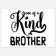 One of a kind Brother Invitations