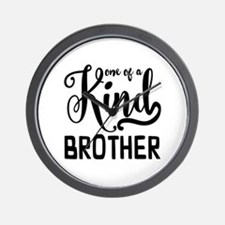 One of a kind Brother Wall Clock