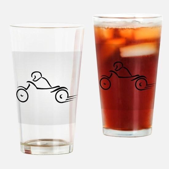 Cute Torque Drinking Glass