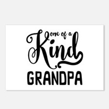 One of a kind Grandpa Postcards (Package of 8)