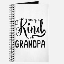 One of a kind Grandpa Journal